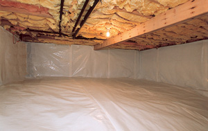CleanSpace® vapor barrier after in Minneapolis