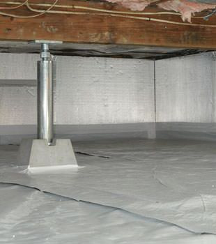 Installed crawl space insulation in Inver Grove Heights
