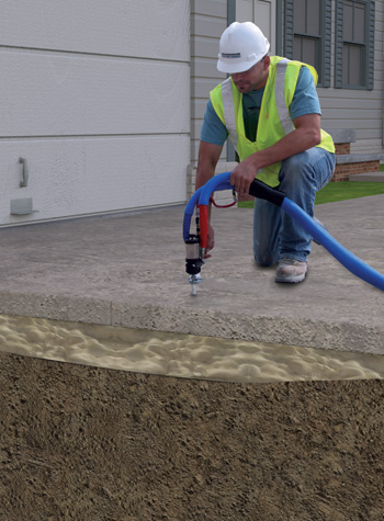 PolyLevel® Concrete Lifting and Leveling