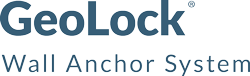 Geo-Lock wall anchor installation in Minneapolis