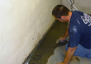 Restoring a concrete slab floor in Southern MN, North Dakota, Northeast IA & Western WI.
